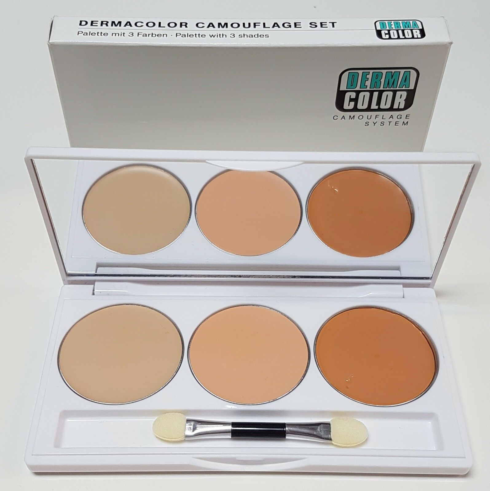 KRYOLAN DERMACOLOR 3 Colour Camouflage Set