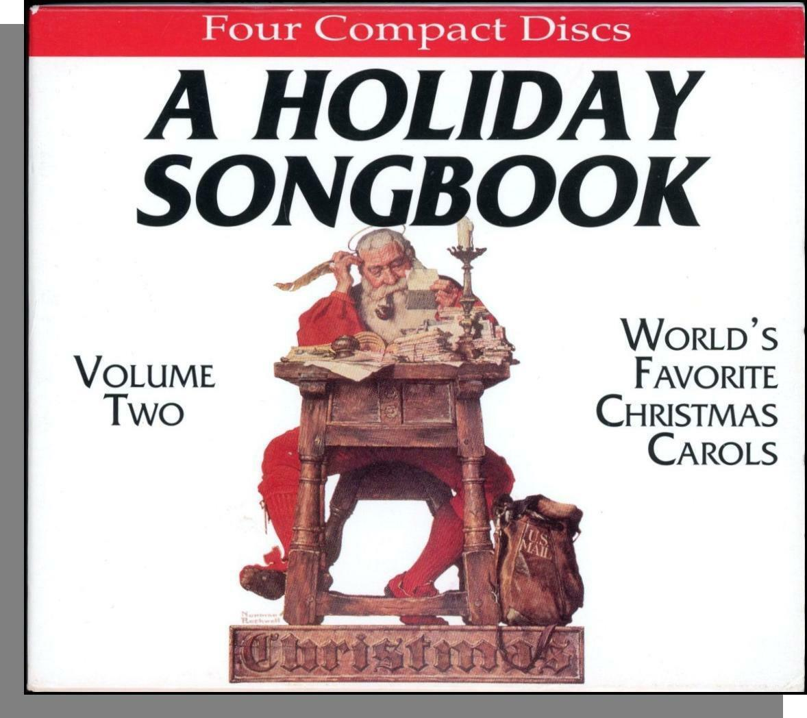 A HOLIDAY SONGBOOK Vol 2: World\'s Favorite Christmas Carols - New 4 ...