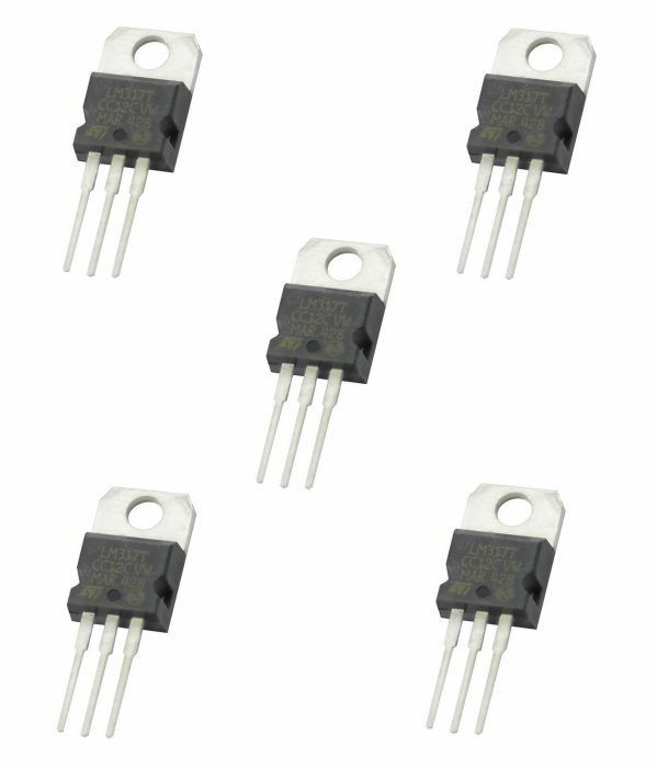 5 X Lm317 Positive Voltage Regulator 125v To 37v 15a Ic 3 Pin Lm317k 1 Of 4only 0 Available