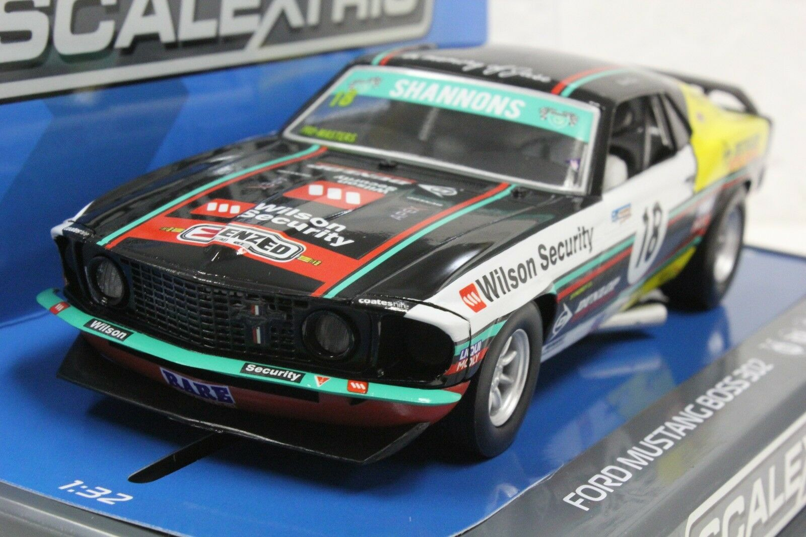Scalextric C3728 Ford Mustang Boss 302 1969 New 1 32 Slot Car Dpr Of 3only 5 Available