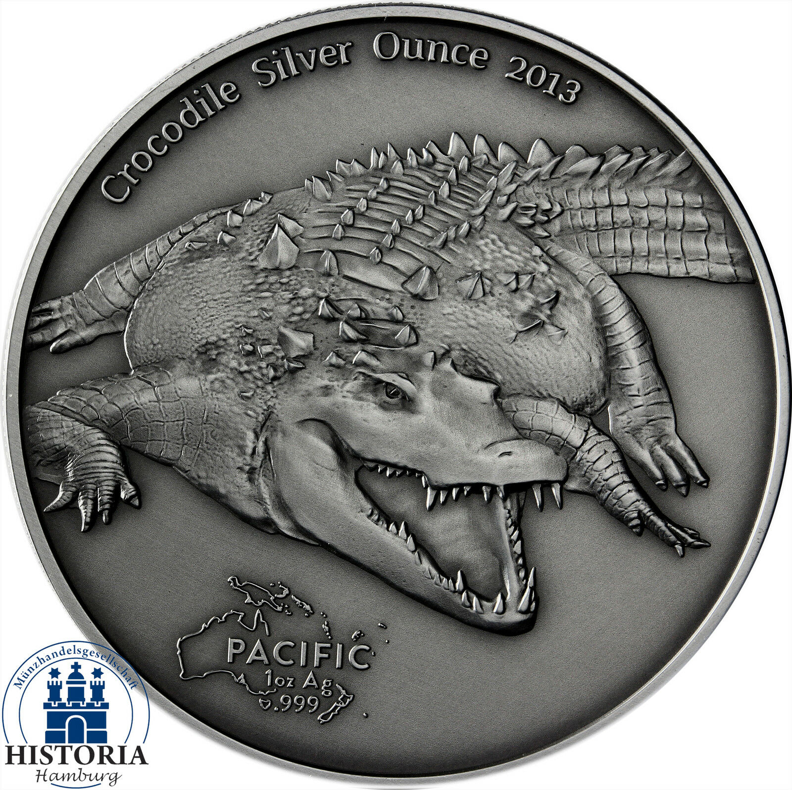 PACIFIK SERIE 2013: Tokelau 5 Dollars Silber Unze ... - photo#39