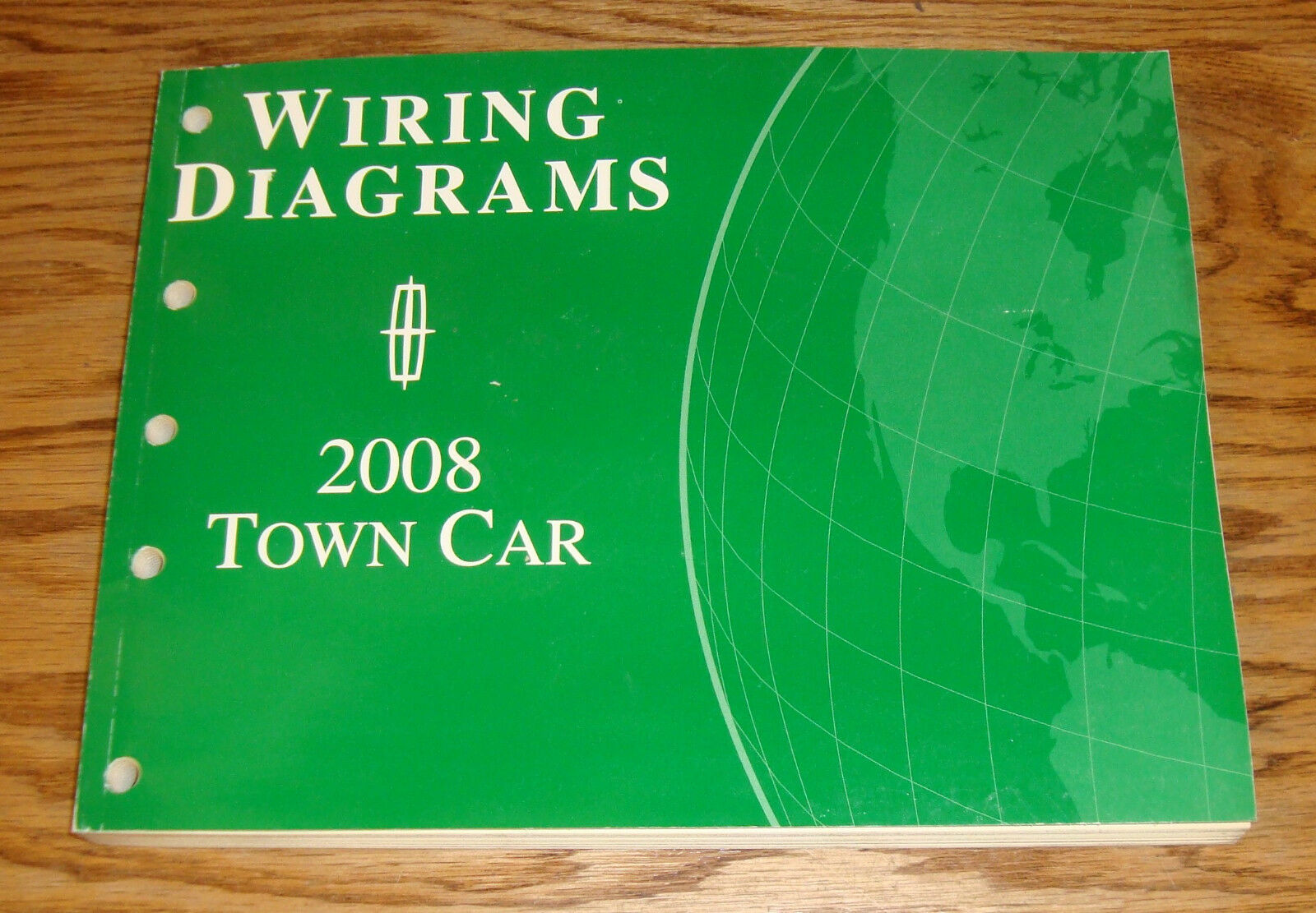 Original 2008 Lincoln Town Car Wiring Diagrams Manual 08 1 of 1Only 1  available ...