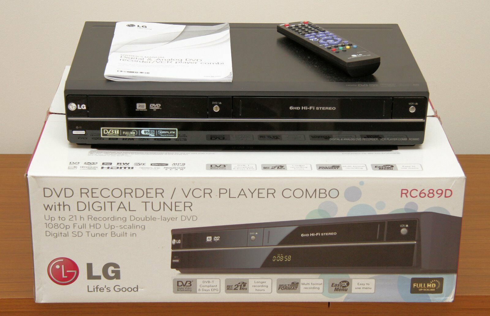 machine to copy vhs to dvd