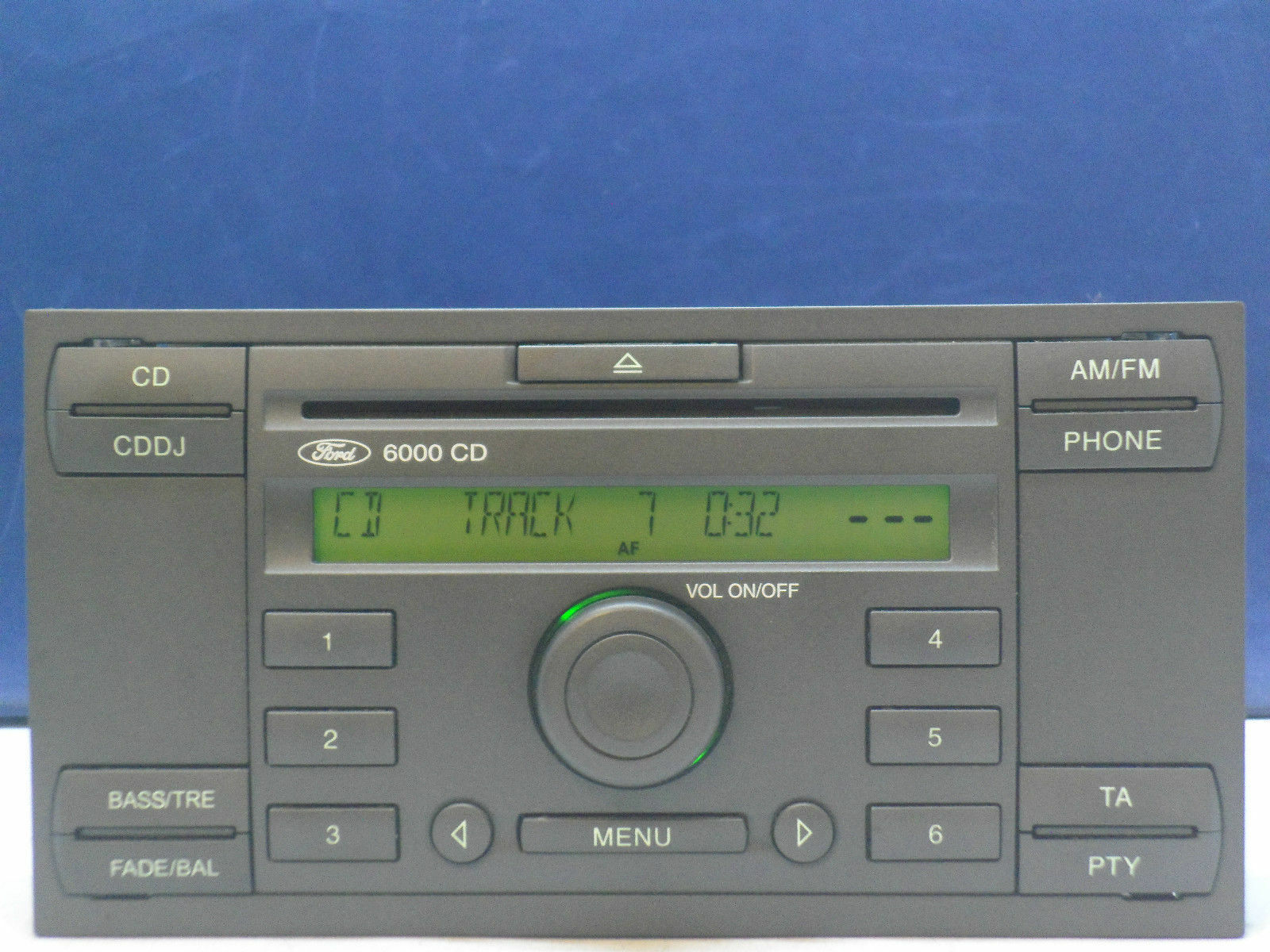 ford 6000 cd radio player stereo transit focus connect. Black Bedroom Furniture Sets. Home Design Ideas