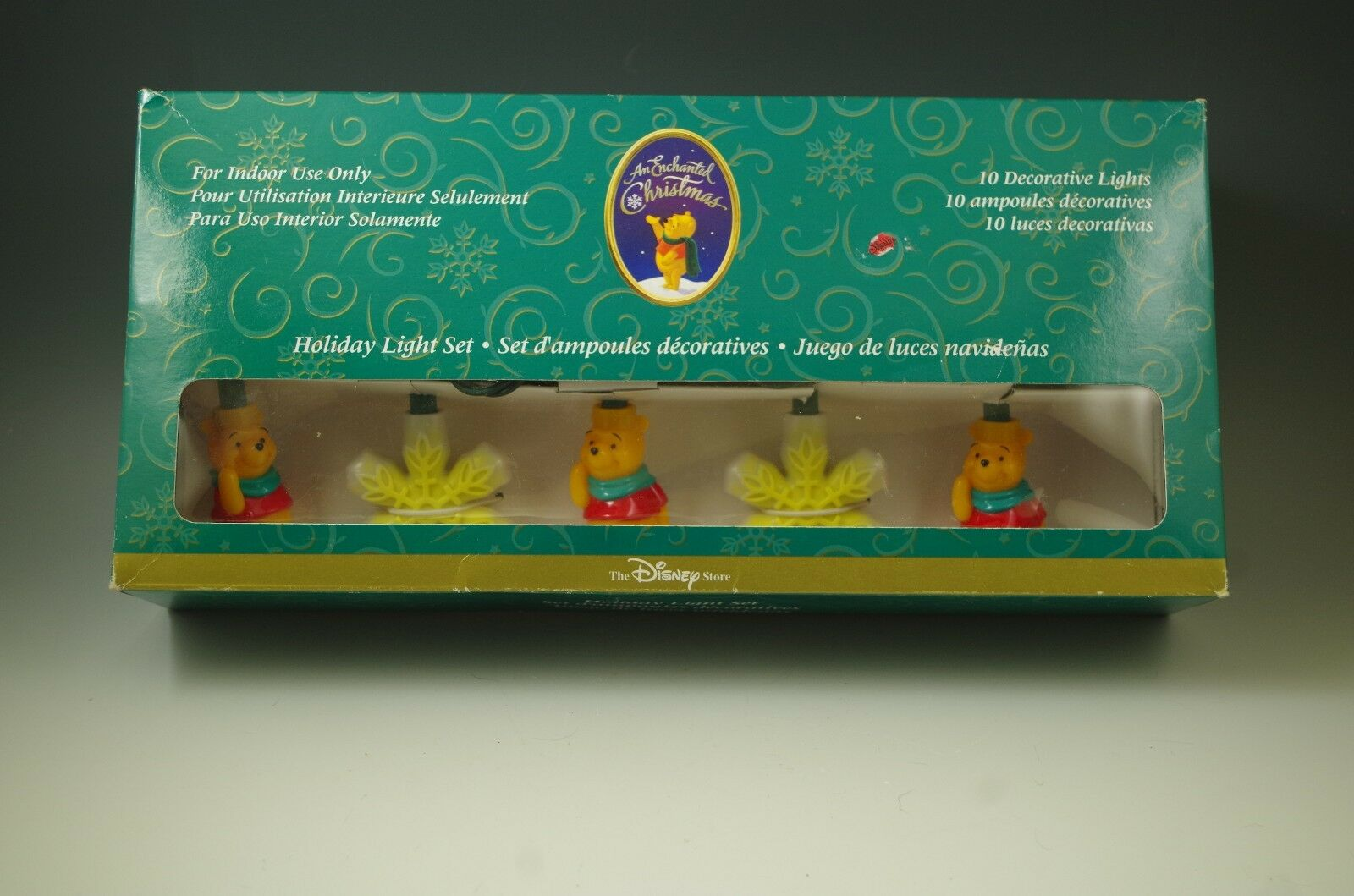 mib disney winnie the pooh set of 10 christmas lights 1 of 4only 1 available