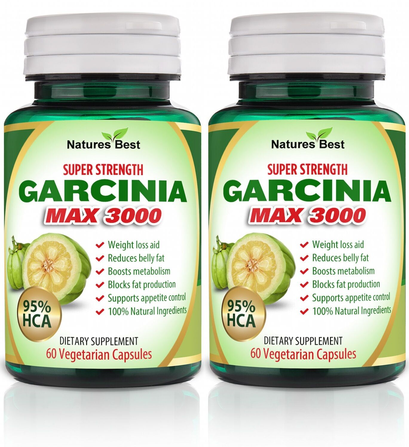 95 Hca Garcinia Cambogia Pure 3000mg Daily Weight Loss Diet 1 Of 2only 4 Available
