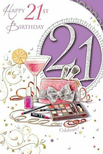 Xpress yourself open female 21 today birthday greetings card birthday greetings card 1 of 1free shipping m4hsunfo