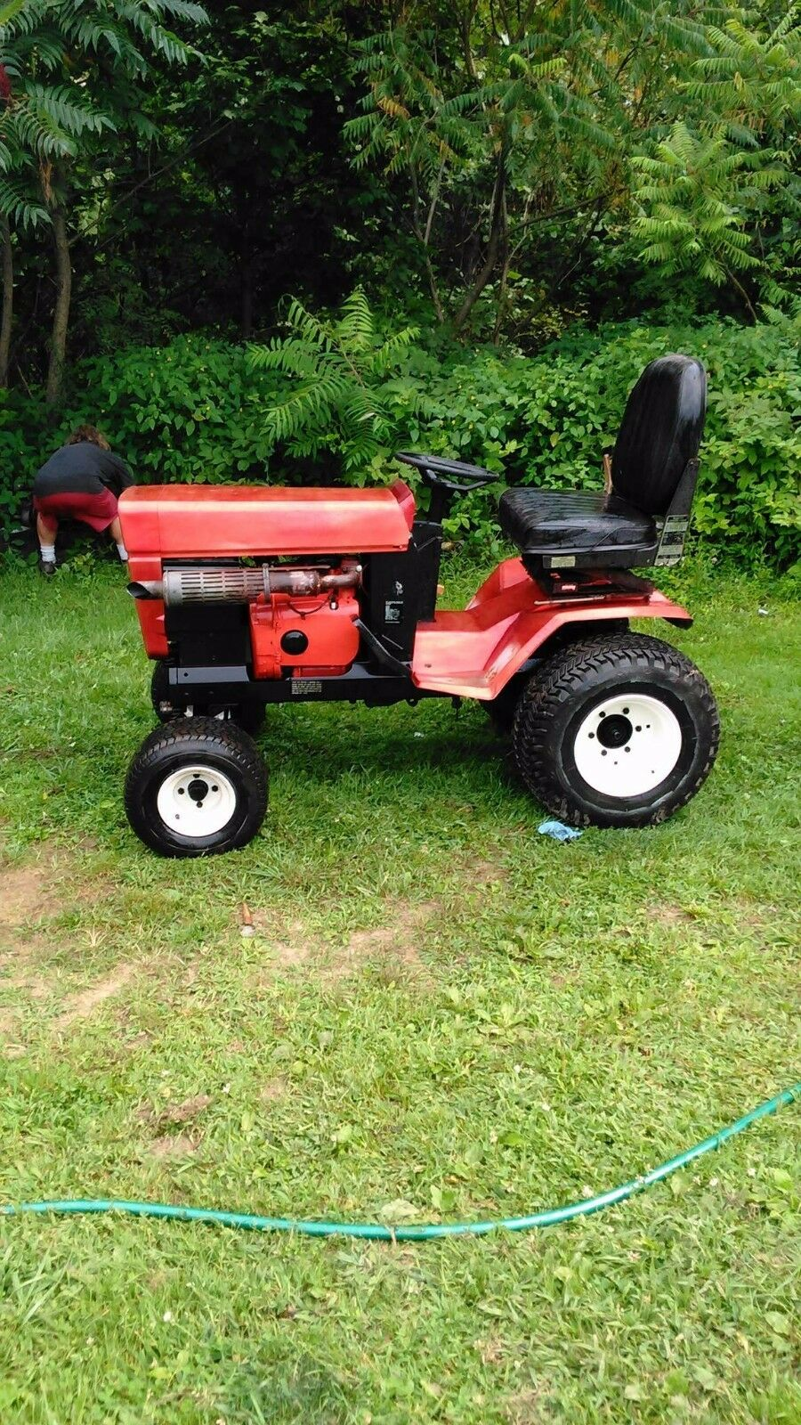 Bolens tractor ht20 with a 54 inch mower deck 1500.00 1 of 3Only 1  available Bolens tractor ...