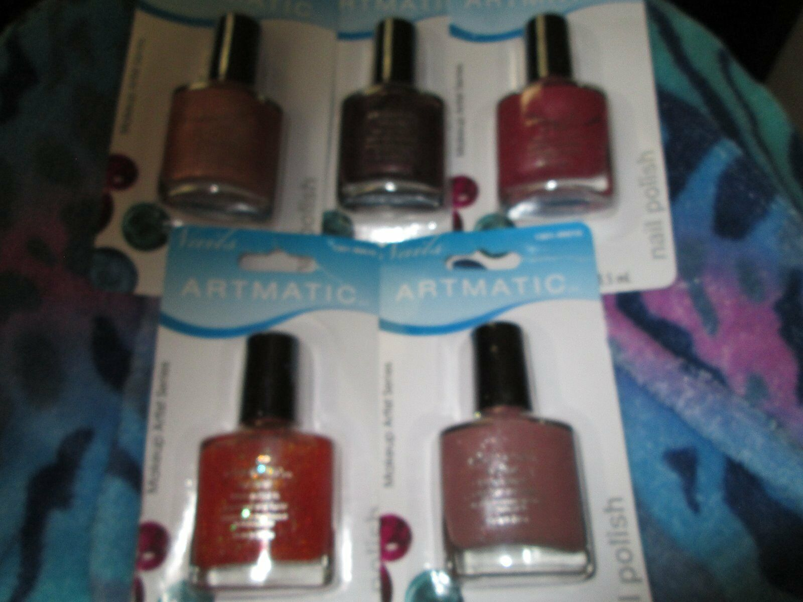 Lots of 5 Artmatic Nail Polish Different color Brand New • $4.99 ...