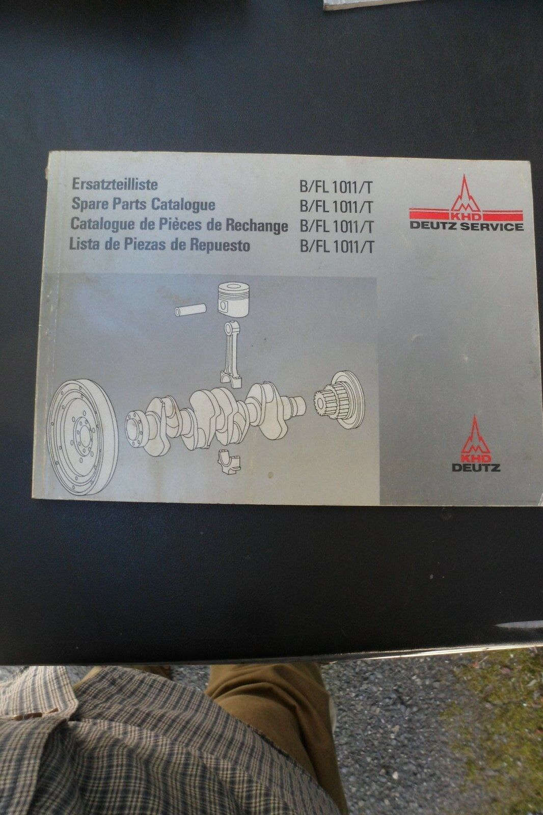 Deutz Parts Catalog~B/FL 1011/T~Engine~Spare Parts Service 1 of 4Only 1  available ...