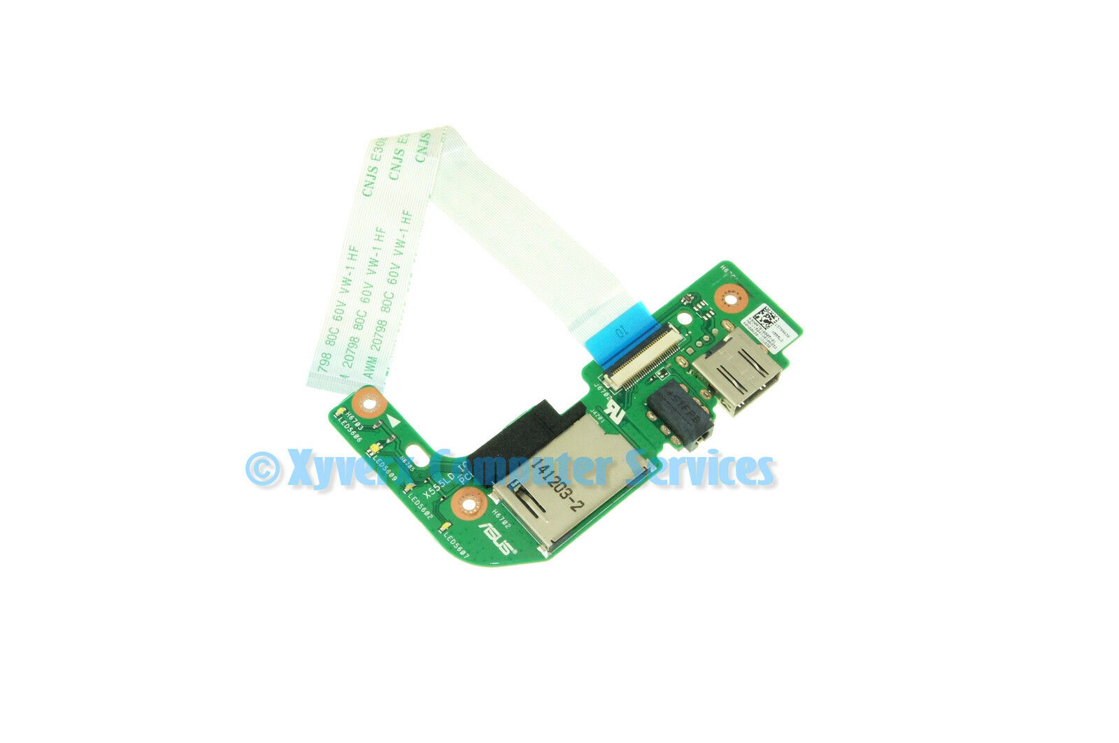 69n0r7b10b05 01 asus usb audio card reader w cable x555l x555la 1 of 2only 2 available freerunsca Images