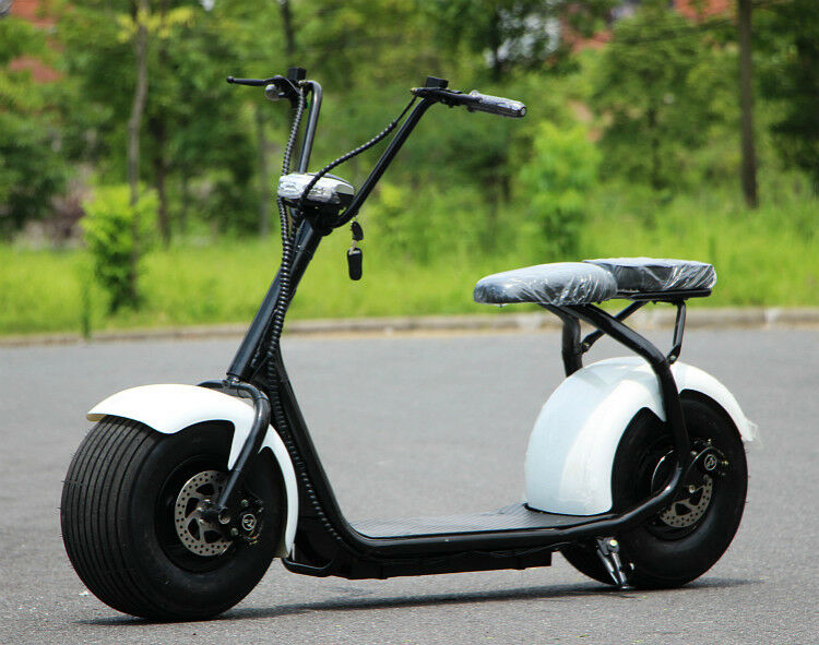 e scooter 2000w 60v 20ah 60km h elektro roller 50km. Black Bedroom Furniture Sets. Home Design Ideas
