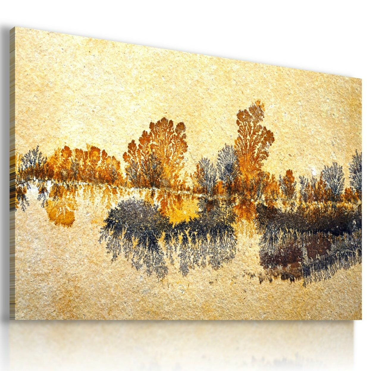 FANTASY LIQUEFIED STONE Canvas Wall Art Picture Large SIZES L532 X ...
