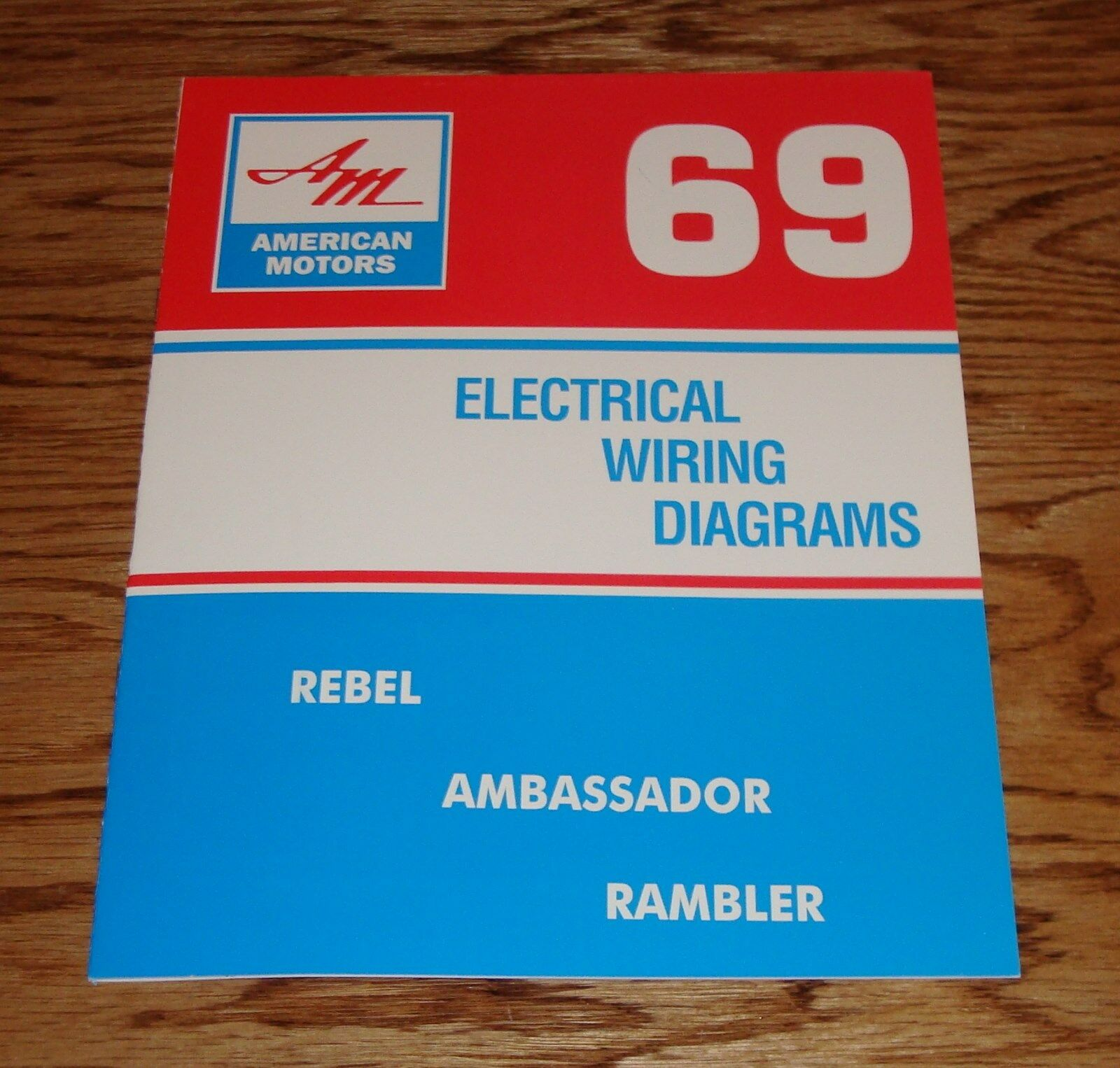 1969 amc american motors electrical wiring diagram manual 69 rambler rh picclick com