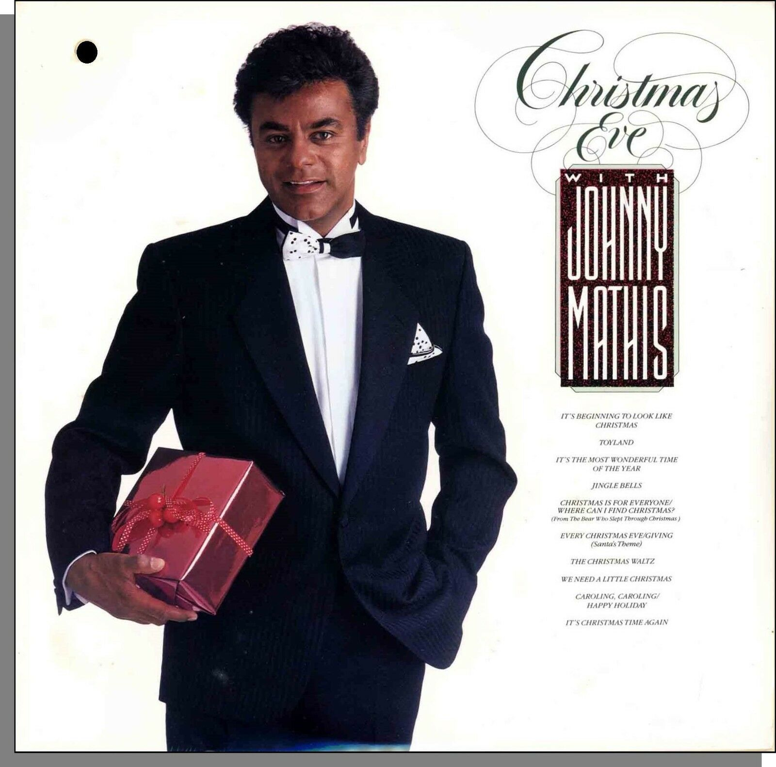JOHNNY MATHIS - Christmas Eve With Johnny Mathis - New 1986 LP ...