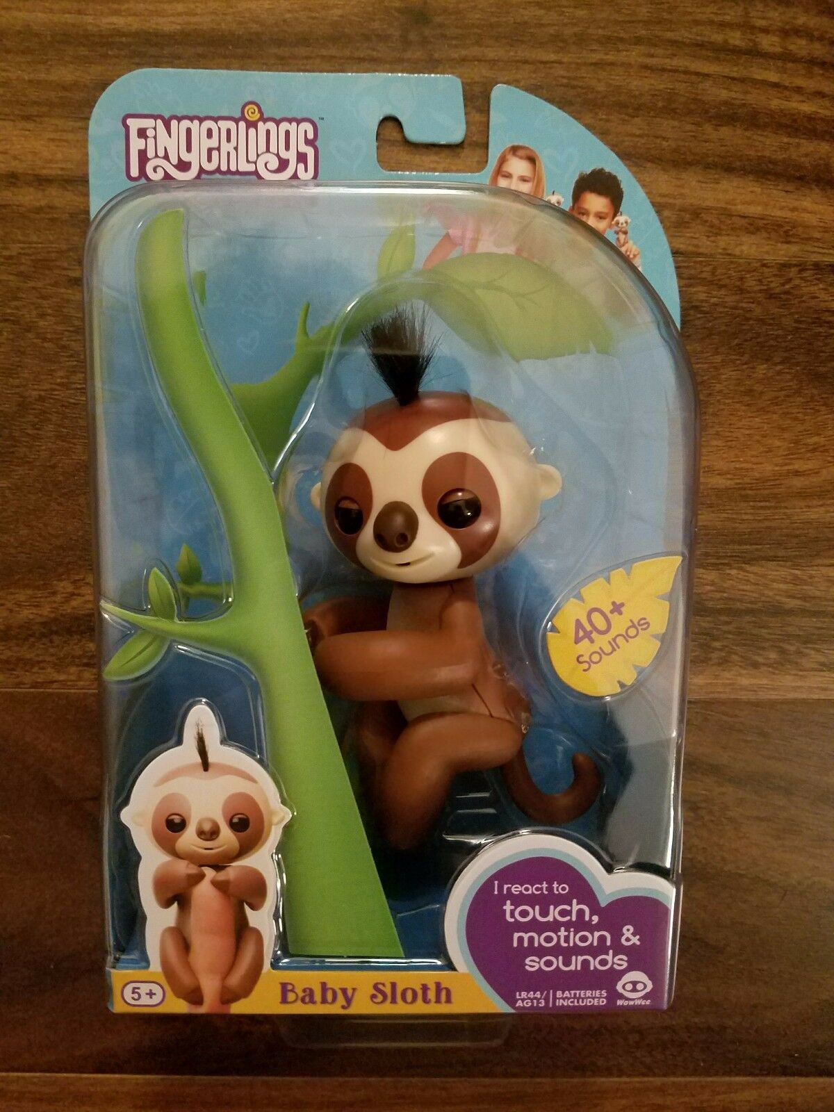 AUTHENTIC Fingerling Sloth Brown Kingsley Walmart Exclusive WowWee Fingerlings 1 Of 3Only 3 Available See More