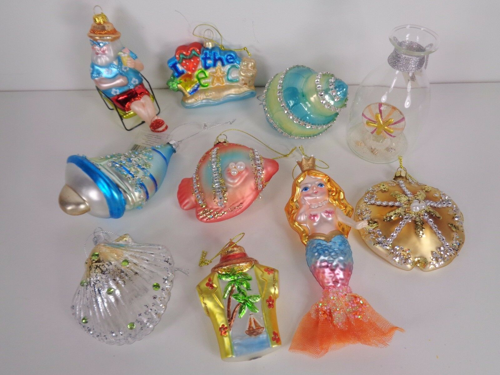 1 of 12only 1 available - Beach Christmas Ornaments