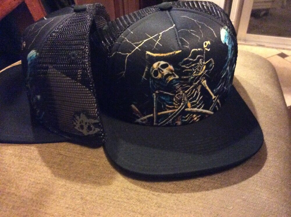BALLAST POINT TRUCKER HAT MESH NEW SAN DIEGO BREWERY Victory At Sea Ballast  Point Brewery Baseball Cap Pirate Skeleton New 9e5e701ff4c9