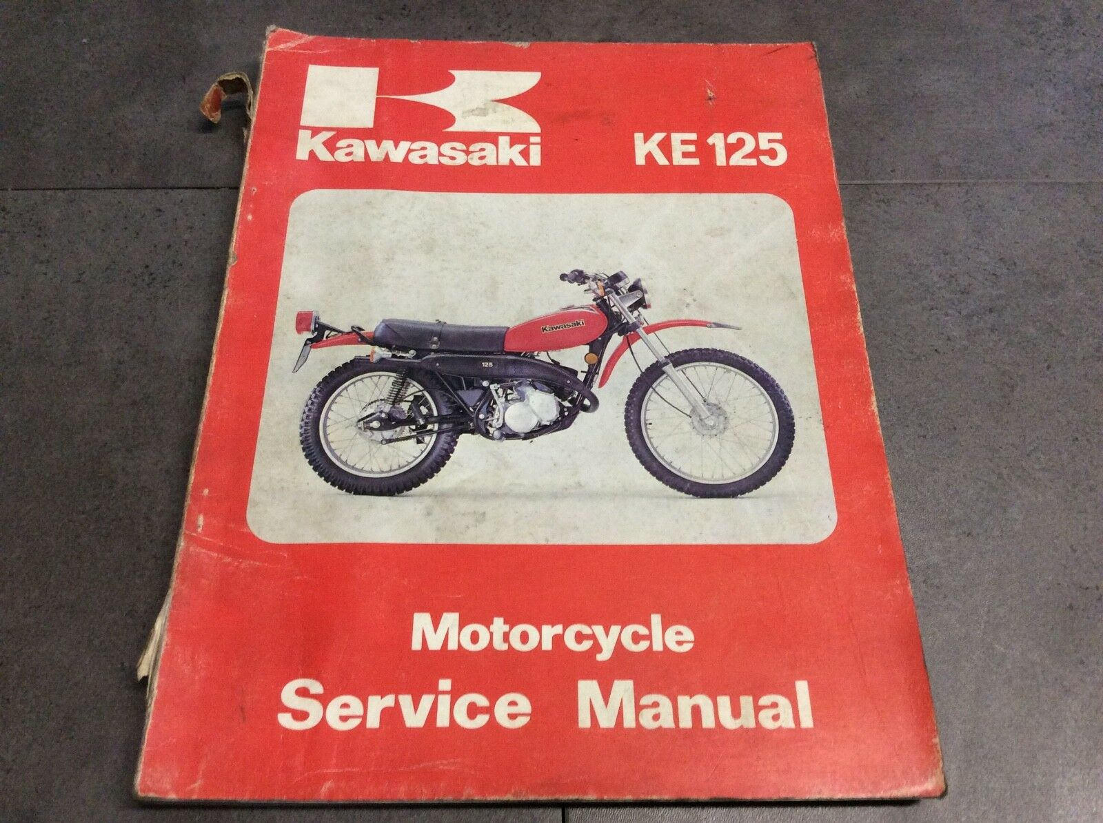 Genuine Kawasaki KE125 1979-1981 Motorcycle Service Shop Manual  99924-1010-03 1 of 4Only 1 available ...
