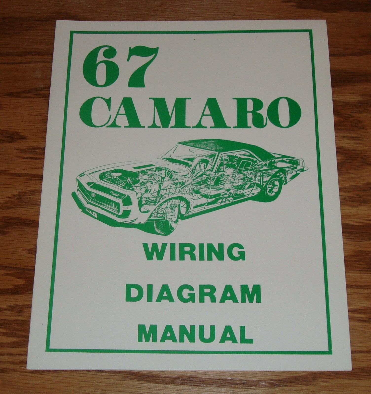 1967 Chevrolet Camaro Wiring Diagram Manual 67 Chevy 1 of 1 See More