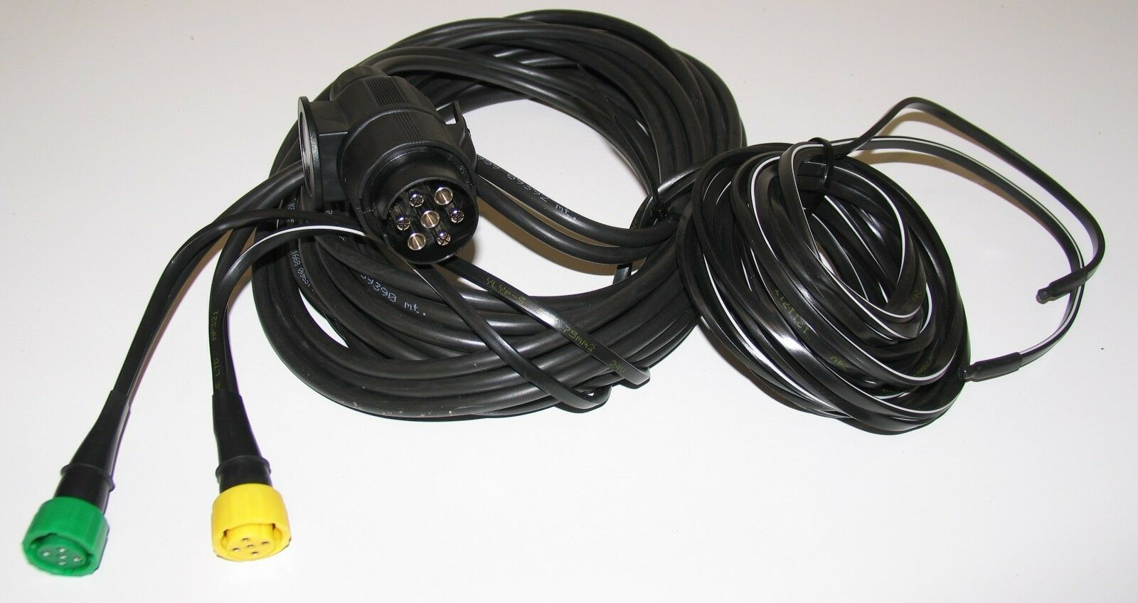 7 Pin Aspock Light Trailer Wiring Harness Loom 8mt Quick Plug In Fit Prong Brian James 1 Of 2 See More