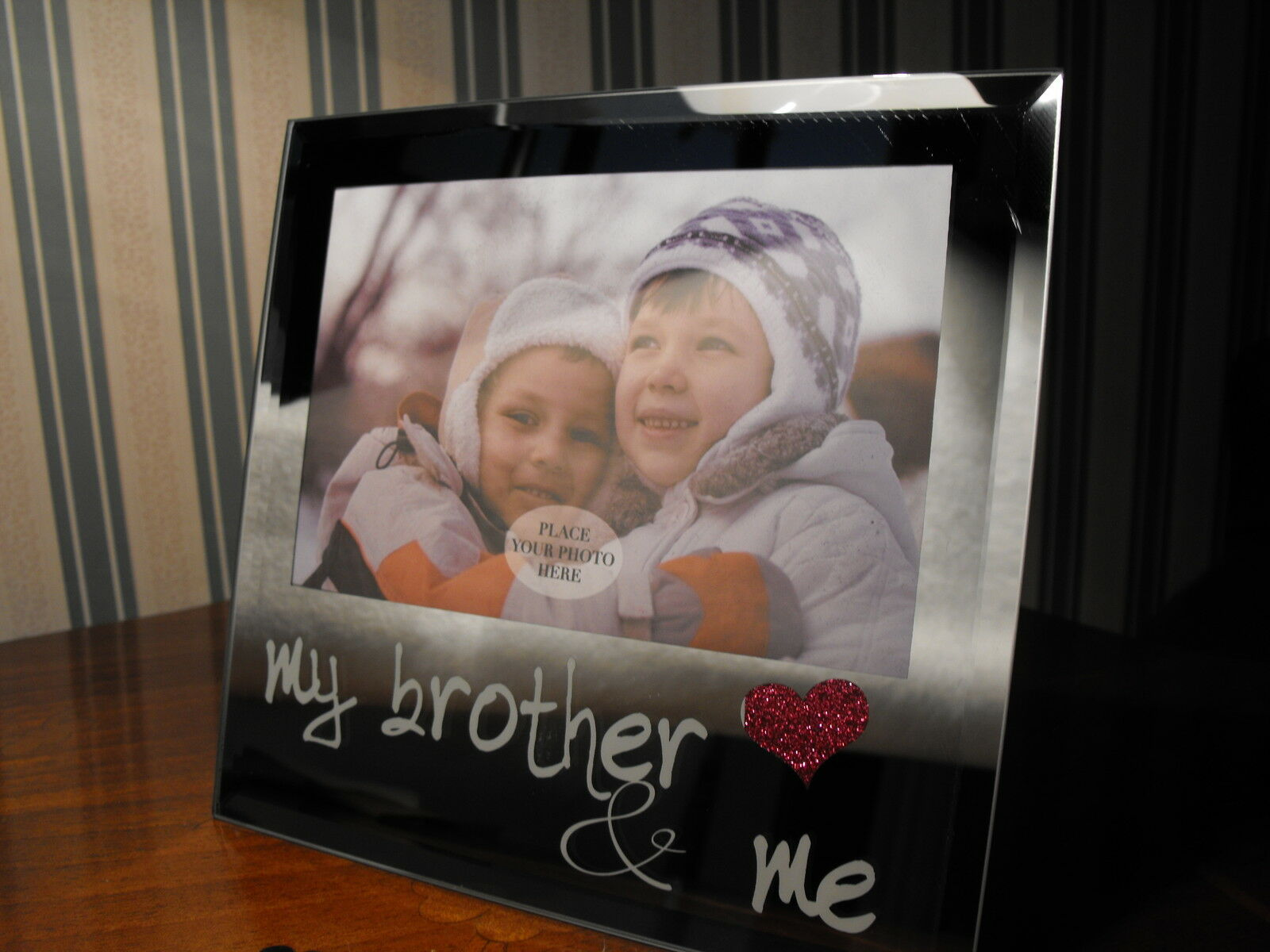 BROTHERS PHOTO FRAME Sister / Brother Photo Frame Big Brother Photo ...