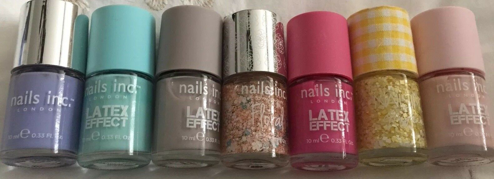 NAILS INC NAIL varnish - Portobello Road- pale pink Matt vinyl ...