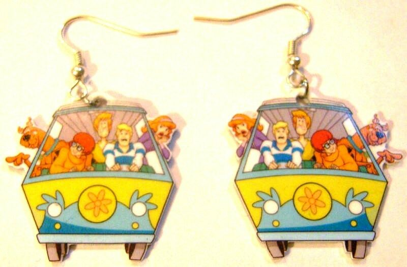 Scooby Doo Earrings Gy Fred Velma Daphine Van Charms 1 Of 1free Shipping