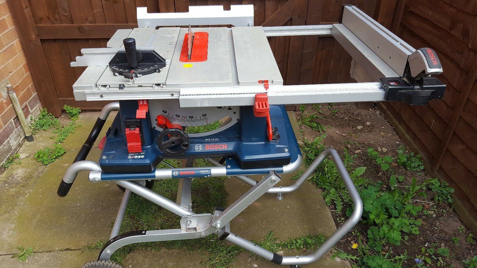 Bosch gts 10xc 10 table saw gta 60 w table saw stand and router 1 of 10free shipping greentooth Image collections