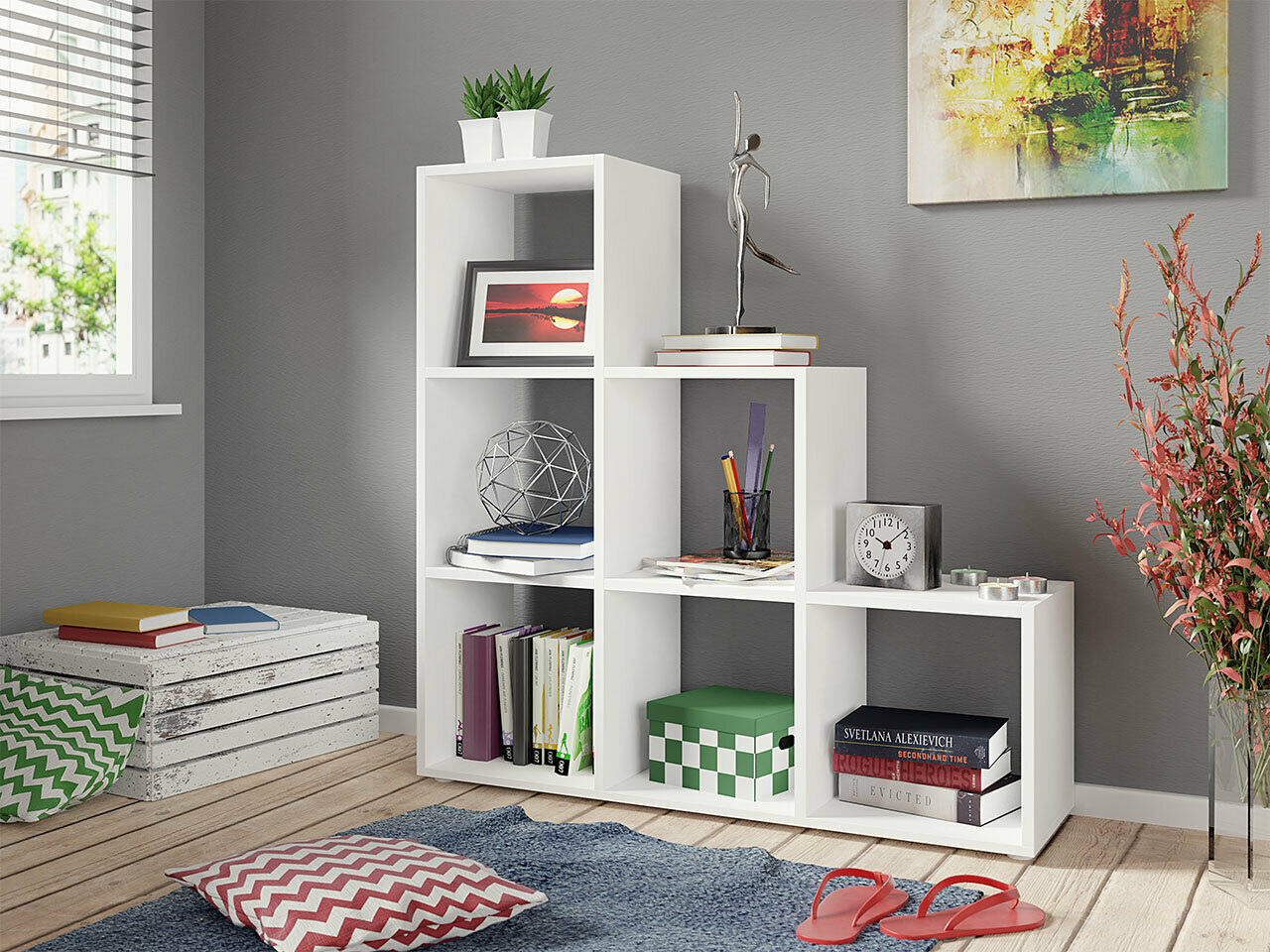 STANDREGAL TRIXY 11 Regal Wohnzimmer Modern Design Wandboard ...