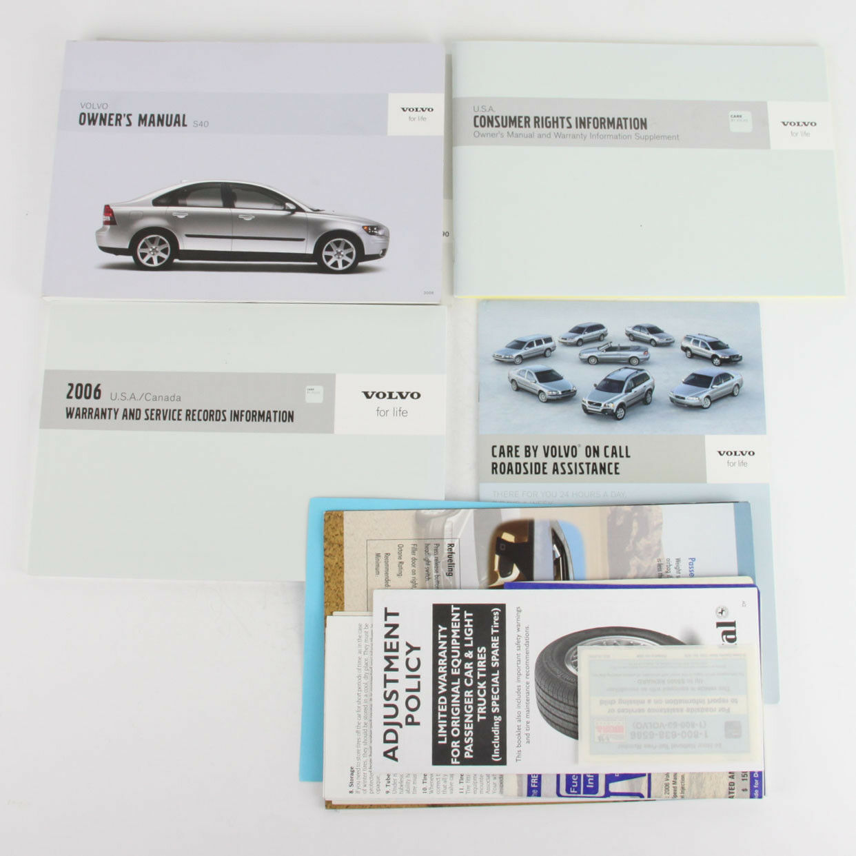 volvo s40 owners manual oem handbook pack 2006 owner s drivers rh picclick co uk 2006 volvo s40 2.4i owners manual 2006 volvo s40 2.4i owners manual