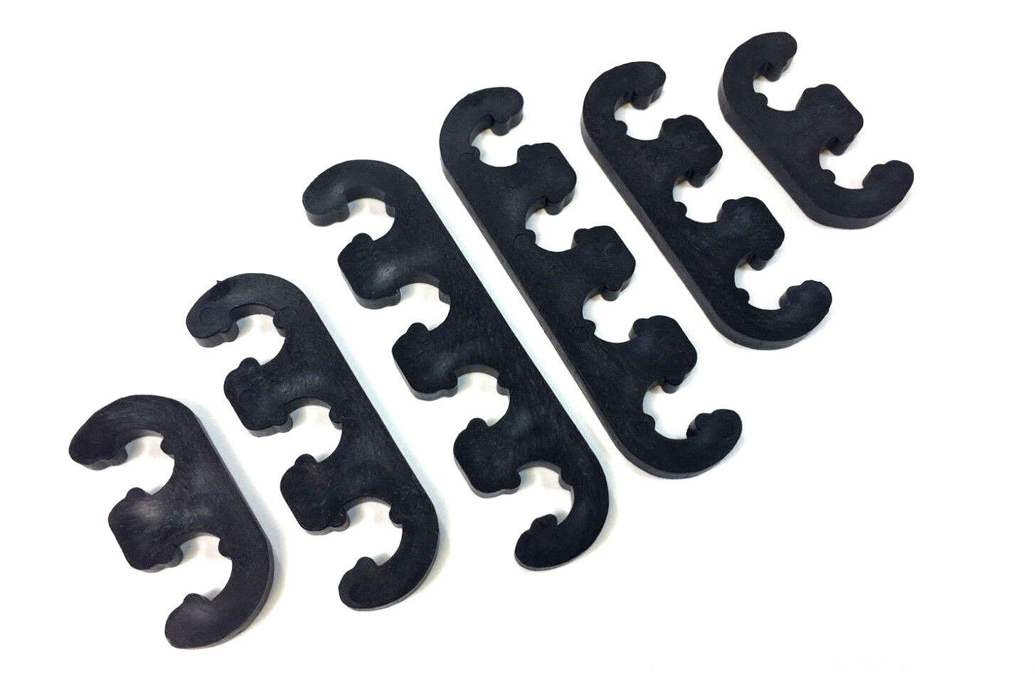 SPARK PLUG WIRES Separators Dividers Looms 7mm 8mm Ford Chevy Mopar ...
