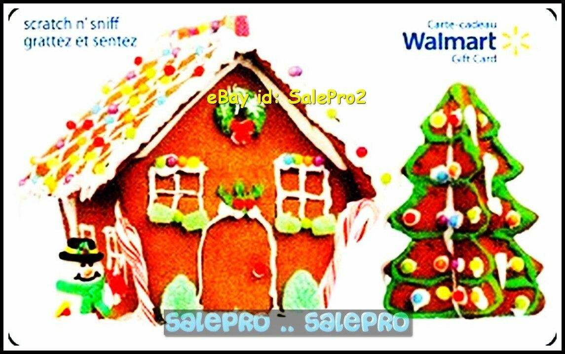 WALMART CHRISTMAS Gingerbread House & Tree Fd29411 Scented ...