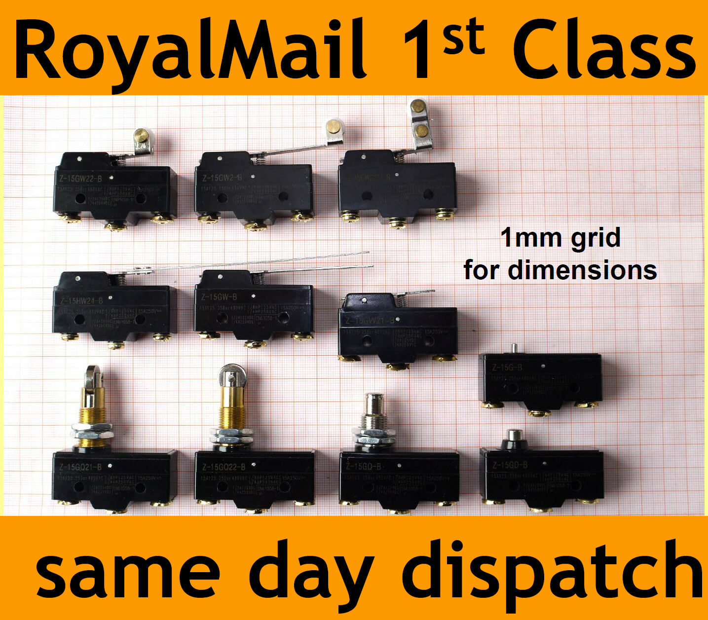 15a Microswitch Z 15 Micro Switch Screw Terminals Spdt Lever Actuator 5a Ebay Roller 1 Of 1free Shipping See More