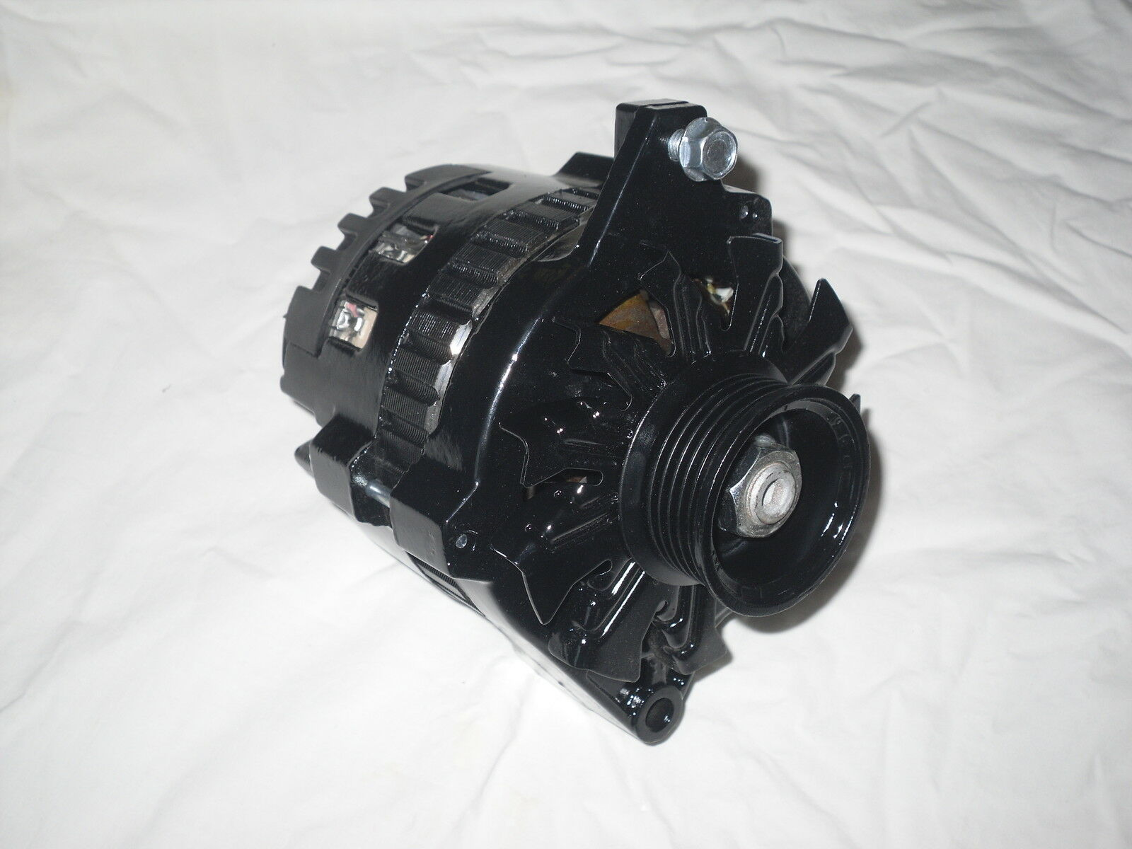 Wiring 60 Amp Alternator Gm Library 1 Wire Chevy Black 180 16 Volt Cs130 Tpi Racing Of 9free