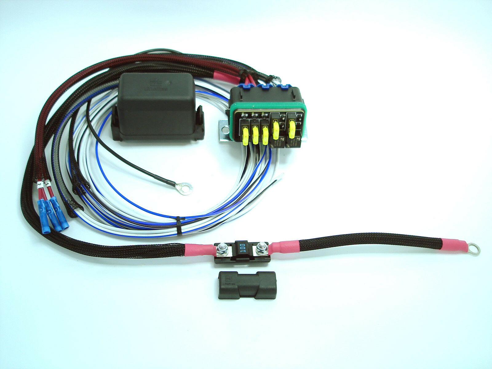 Kit Car Fuse Relay Box Universal Waterproof Distribution Jeep Spod Hwb18 1 Of 7only 2 Available