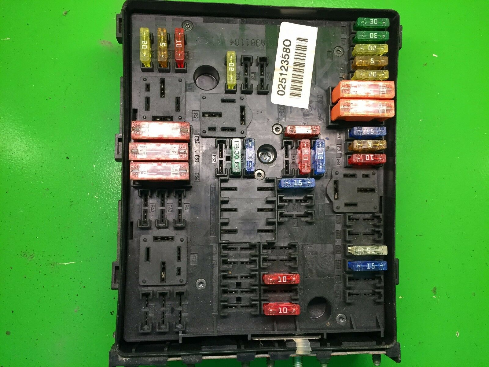 Vw Golf Mk5 16 Fsi Audi A3 8p 20 Tfsi Fuse Box Relay Module 3 2