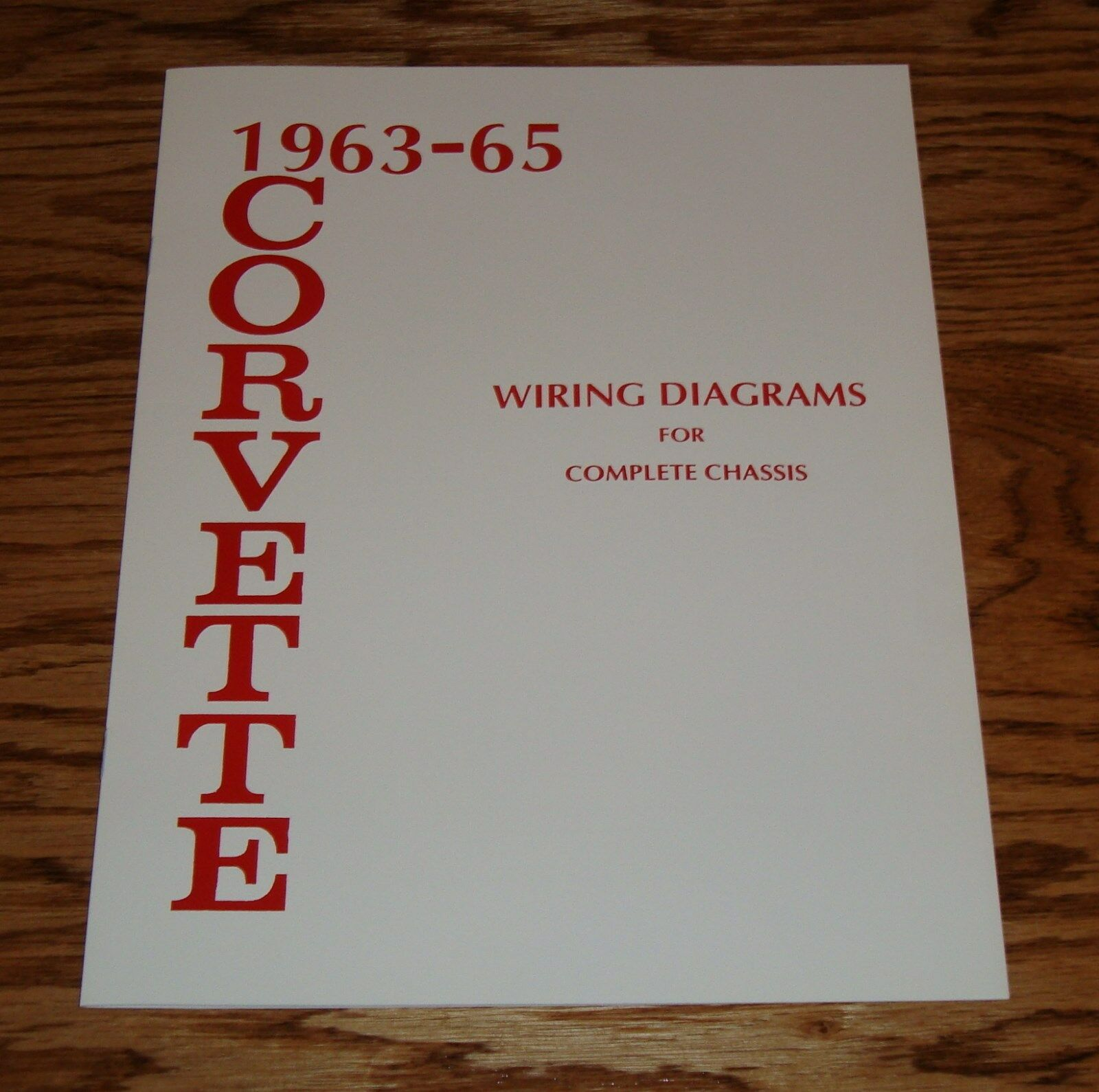 1963 1964 1965 Chevrolet Corvette Wiring Diagram Manual For Complete 1958 Chassis 1 Of 1only 2 Available See More
