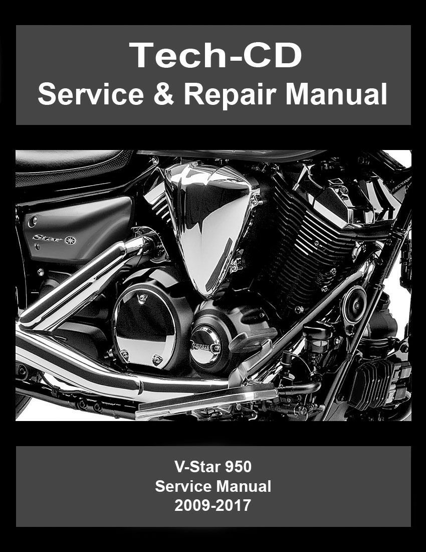 V Star 950 Wiring Diagram Yamaha Service Repair Manual Xvs950 Vstar 2009 2017 1 Of 3free Shipping