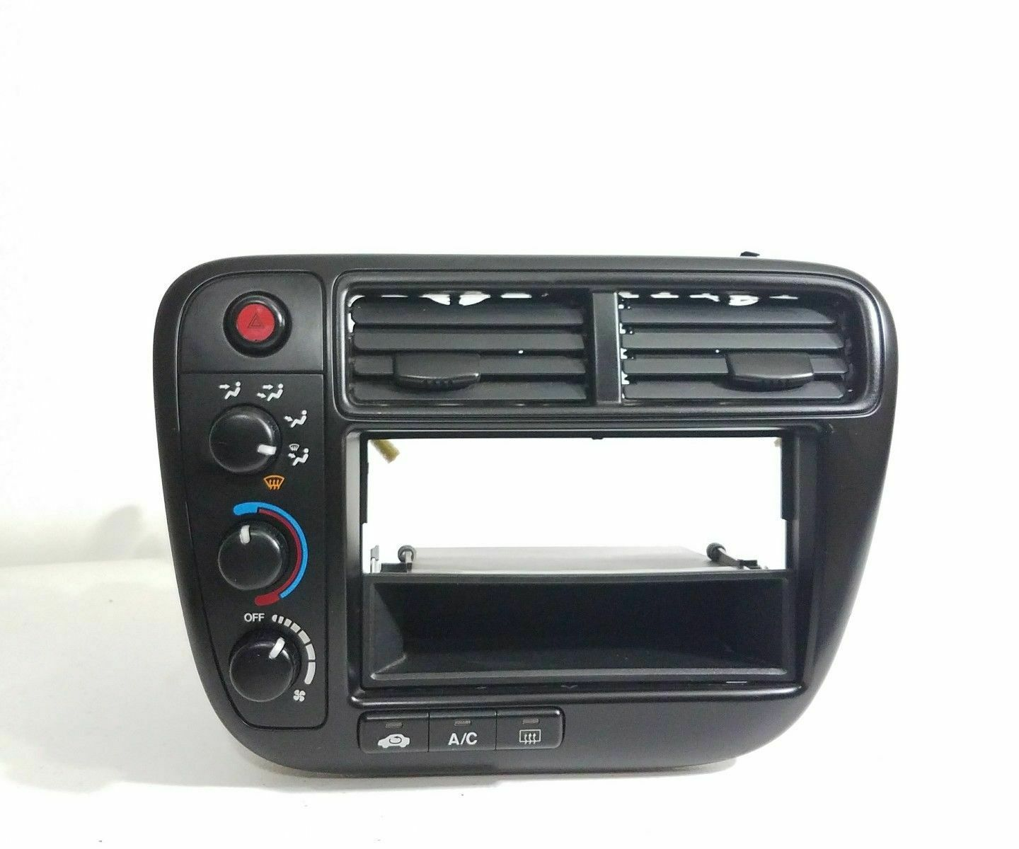 99 00 Honda Civic Ex Dx Lx Radio Dash Bezel Climate Control Oem Fuse Box 1 Of 4only Available