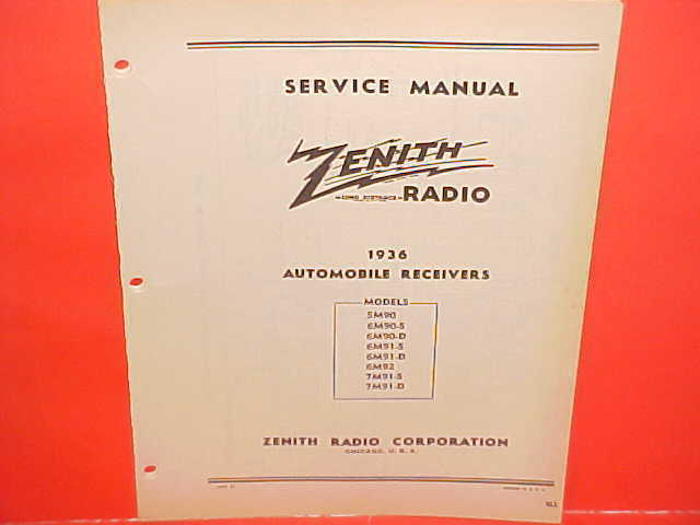 1936 Buick Chevrolet Ford Chrysler Dodge Studebaker Zenith Radio. 1 Of 2only Available. Wiring. Zenith 5g03 Wiring Diagram At Scoala.co