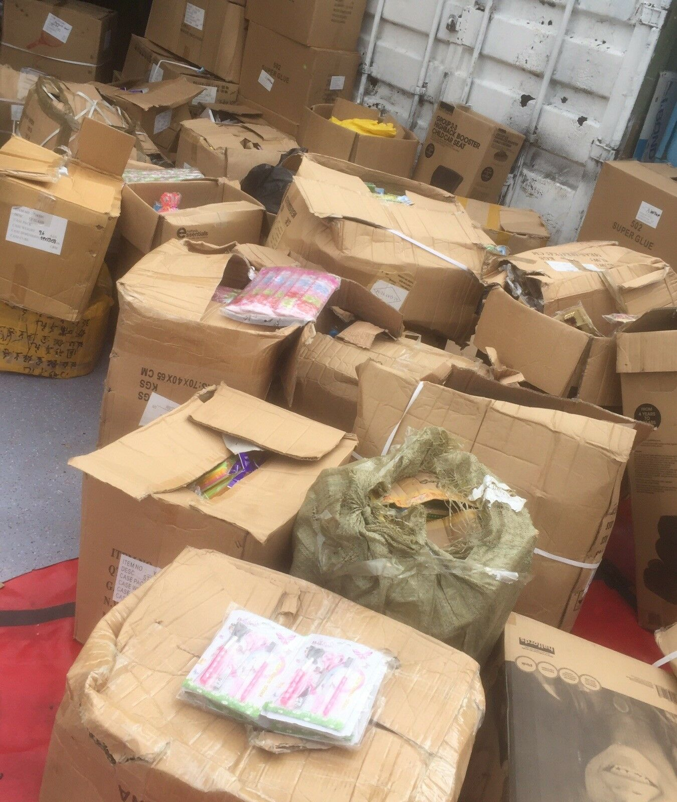 Wholesale Pallet For Sale: BRAND NEW WHOLESALE Job Lot Of 100 Items Mixed Products