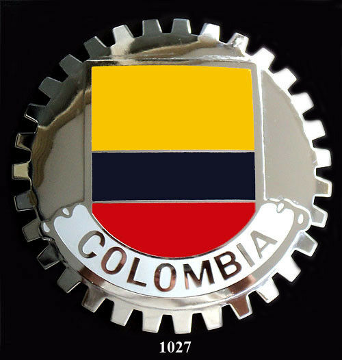 New Columbia (PA) United States  city photo : Car Grille Emblem Badges Columbia Flag • $29.95 PicClick