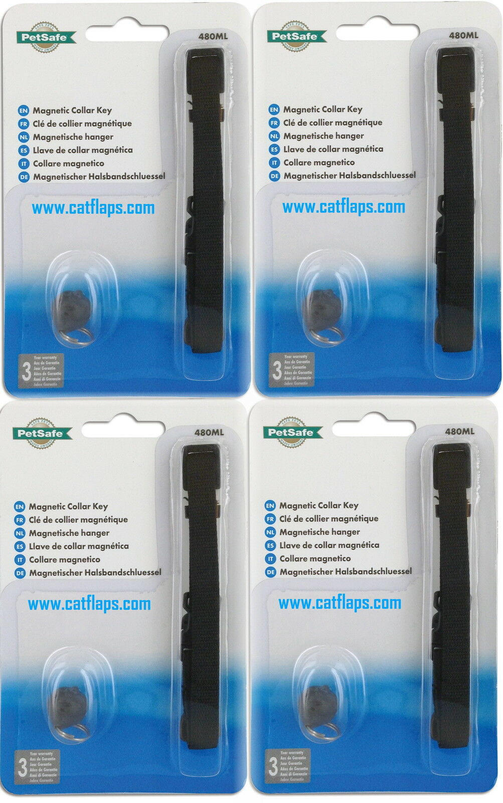 Magnetic Cat Collar & Magnet Key Staywell 400 932 480 M