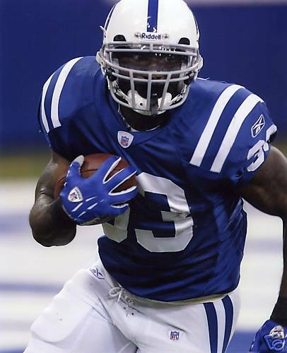 DOMINIC RHODES INDIANAPOLIS COLTS 8X10 SPORTS PHOTO