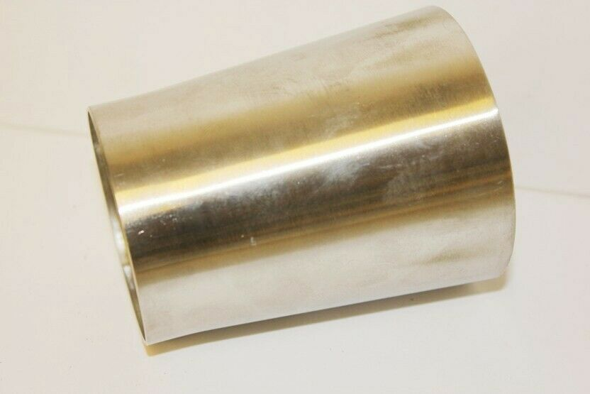 Exhaust cone reducer adapter quot to stainless eur