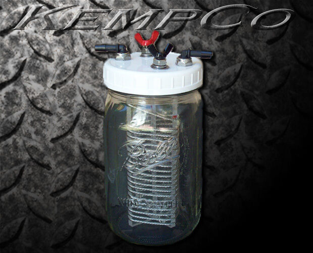 KempCo HHO Hydrogen Generator Add-On Fuel Cell Unit