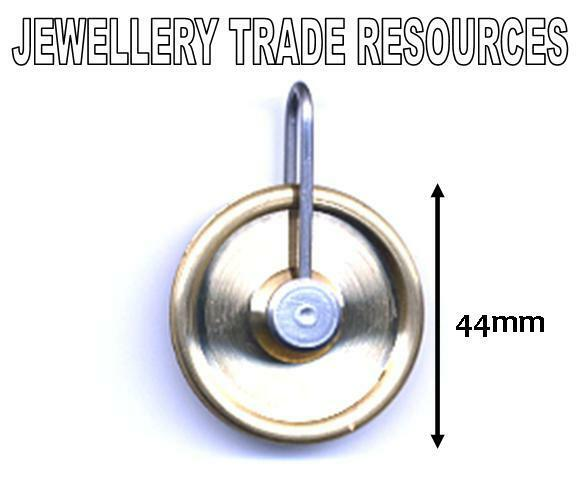 NEW REPLACEMENT BRASS CLOCK PULLEY GUT LINE PULLY 44mm