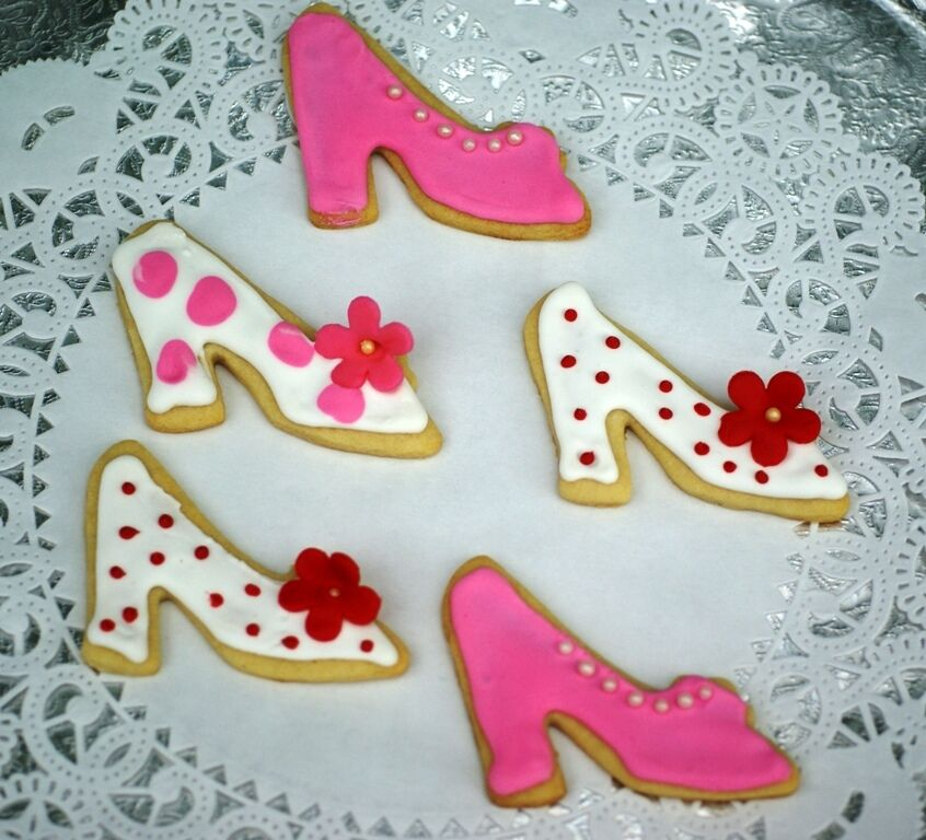 1 Ladies High Heel Shoe Cookie Cutter High Tea Parties