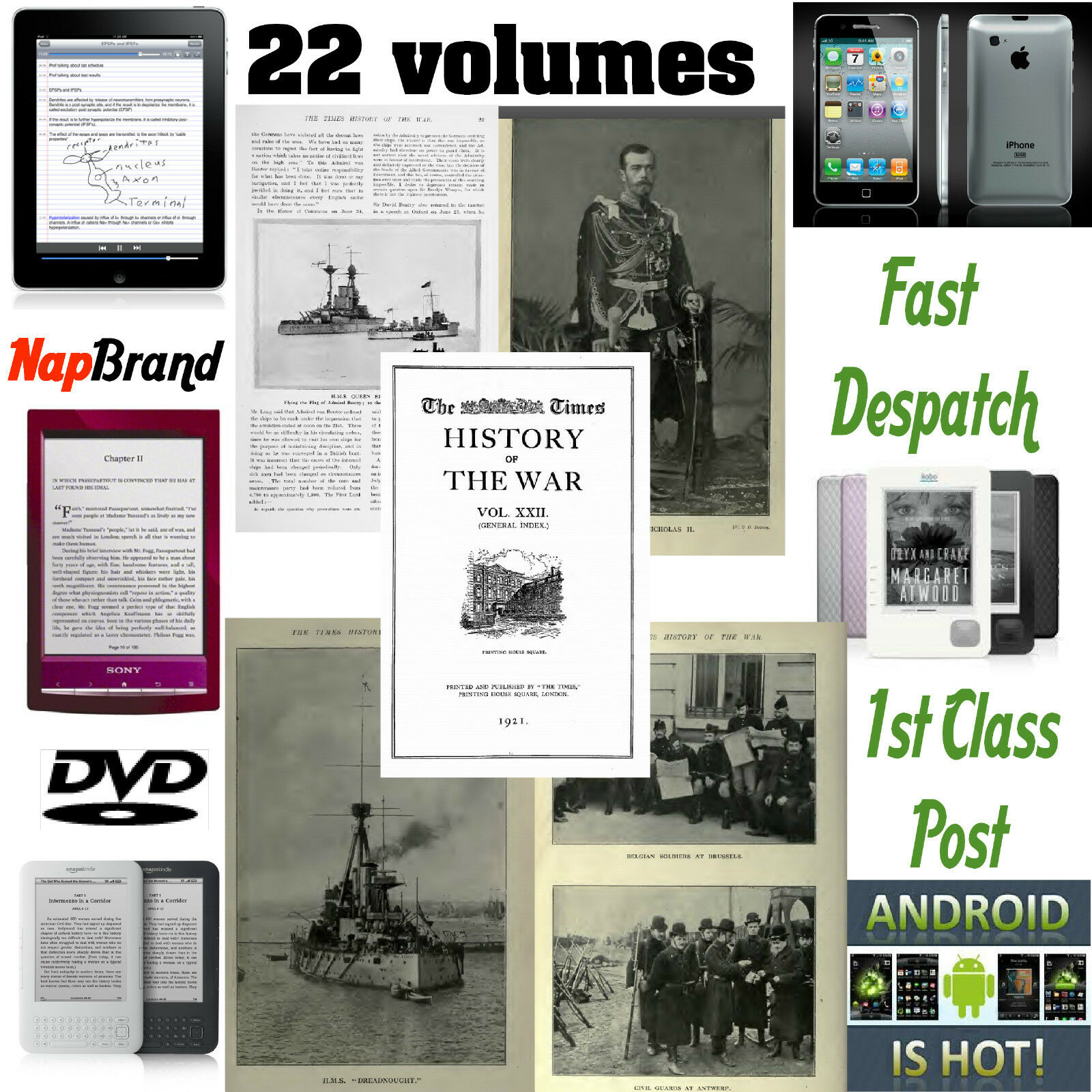 The times history of war 22 volumes pdf ww1 over 10000 pages 1 of 1 see more fandeluxe Choice Image